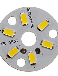 3W 250-300LM Warm White Light 5730SMD Integrated LED Module (9-12V)