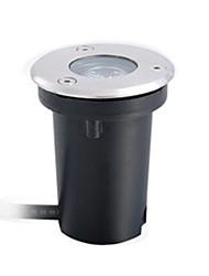 cheap -1 Light 1W Aluminium Ally Silver LED Underground Light IP68 Waterproof