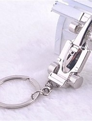 cheap -Beautiful Guitar Stainless Steel Key Chains Kike Cool F1 Car Model Keychain