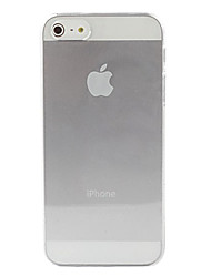 economico -Custodia rigida trasparente per iPhone 5