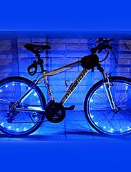 Eclairage de Vélo / bicyclette Éclairage pour roues de vélo LED Cyclisme Imperméable AA Lumens Batterie Cyclisme-FJQXZ