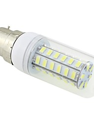 3W B22 LED Corn Lights T 48 SMD 5730 250-300lm Cold White 5500~6500K AC 220-240V