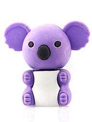 Недорогие -милый съемный коала форме ластик (случайный цвет х 2 шт)