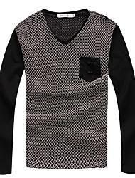 economico -Per uomo Moderno Pullover - Colorata, A quadri