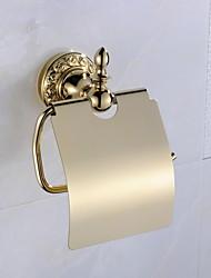 abordables -Soporte para Papel Higiénico Clásico Latón 1 pieza - Baño del hotel