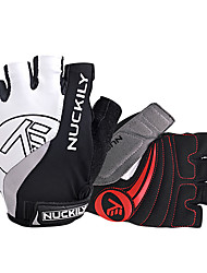 NUCKILY® Sports Gloves Cycling Gloves Bike Gloves Anti-skidding / Breathable / Reflective Fingerless Gloves Cycling Gloves/Bike Gloves