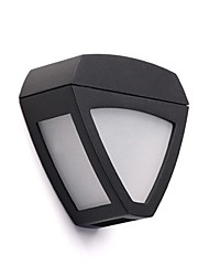 2-LED Outdoor LED Solar Fence Light Wall Light Landscape Pinup Path Garden Lamp