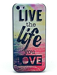 cheap -Live and Life of Sea Pattern Hard Case for iPhone 4/4S iPhone Cases