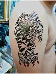 economico -1 Pcs Tiger Waterproof Temporary Tattoo(16.5cm*9.5cm)