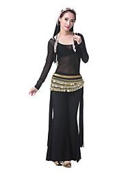 preiswerte -Bauchtanz Verschleiß Outfits Frauen Leistung Satin elegantes klassisches Kleid