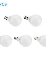 billige -480lm E14 G5 LED-globepærer G45 32 LED Perler SMD 3022 Varm hvid 220-240V