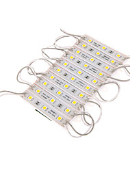 Z®ZDM 7W 30x5050SMD 300-350LM 3000K Warm White LED Light Plastic Shell Rectangle Module (DC 12V)
