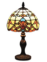 billiga -Barock stil Tiffany Mini Light med Staind Glass för barns Room D08025T