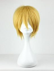 Parrucche Cosplay Cosplay Kise Ryota Giallo Corto Anime Parrucche Cosplay 30 CM Tessuno resistente a calore Uomo