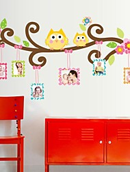 cheap -Cartoon Wall Stickers Animal Wall Stickers Photo Stickers, Vinyl Home Decoration Wall Decal Wall