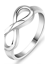 cheap -Genuine 925 Brand Rings for Women Knot Ring Sterling Silver S925 Stamped Silver Ring