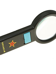 cheap -Handheld 67mm 5X Magnifier with 10-LED Illumination
