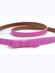 cheap -Women's Party Work Active Basic Skinny Belt Waist Belt - Solid Colored