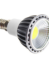 cheap -E14 5 W COB 50-400 LM Cool White Dimmable Spot Lights AC 220-240 V