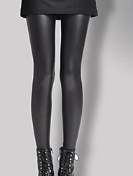 abordables -mujeres pu legging, faux fur / faux leathersporty fashion slim chic