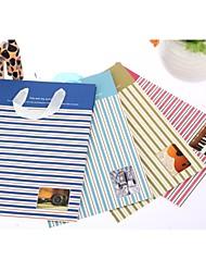 Недорогие -шаблон полосы держатель подарок мешок пользу (больше цветов)
