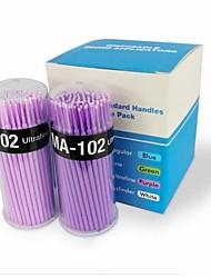 Недорогие -100шт микро кисть тампон для ресниц удаления расширения (diameter1.5mm) (случайный цвет)