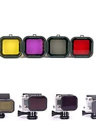 Недорогие -Погружение фильтр Для Экшн камера Все Gopro 5 Gopro 2 Дайвинг