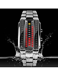 cheap -SKMEI® KMEI 1013 Stylish Unisex 30M Water Resistant Rectangle Zinc Alloy LED Electronic Wrist Watch Sport Watch Cool Watches Unique Watches