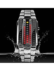 cheap -SKMEI® KMEI 1013 Stylish Unisex 30M Water Resistant Rectangle Zinc Alloy LED Electronic Wrist Watch Sport Watch Cool Watches Unique Watches