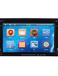 "billige -6.2 ""2 DIN LCD touch screen in-dash bil dvd-afspiller med 3g, GPS, Bluetooth, ipod, rds, ATV"