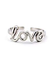 cheap -Toe Ring - Women's Gold / Silver Unique Design / Love / European Body Jewelry For Daily / Casual / Women's