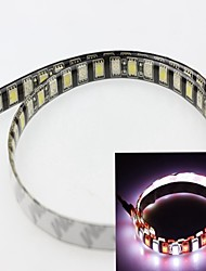 cheap -White + Red 60cm 5050smd 60led 12W 6000-6500K 635-700nm 550-650 LM DC12V IP65 Waterproof Strip Light