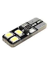 cheap -T10 Car Motorcycle White 1W 5800-6300 Reading Light License Plate Light Side Marker Light Door lamp