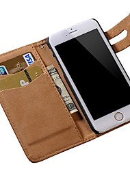 Soft Pattern PU Leather Wallet Cover for iPhone 6s 6 Plus