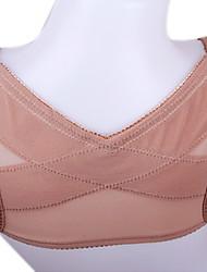 verhindern Buckel hohe elastische Dame Bruststützstützgürtel Haltung Korrektor x Typ zurück Schulter Weste Kaffee ny062
