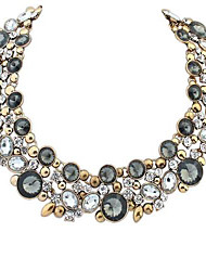 estilo europeu retro jóia colar (mais cores)