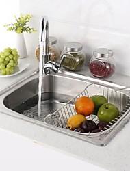 Недорогие -кухонный умывальник / кухонный смеситель / водосток для кухни Современный - Нержавеющая сталь Прямоугольный Vessel Sink