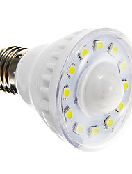 2W E26/E27 LED Spotlight A60(A19) 12 SMD 5050 85-150 lm Warm White Cold White 6000-6500 K Sensor AC 220-240 V