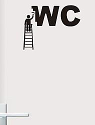 preiswerte -Wandaufkleber Wandtattoo, moderne Dekoration Arbeiter PVC-Wandaufkleber