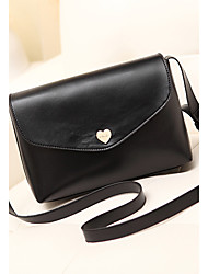 cheap -Mandy Women's Fashion Buckle Crossbody Bag (Black)