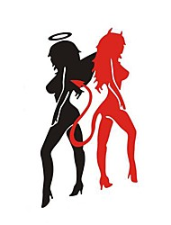 Fashion Angels and Demons Personality Car Stickers.