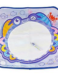 Недорогие -72 * 63 * 1 см детский кит / краб рисунок Aquadoodle с цветочными игрушек новизны игрушки