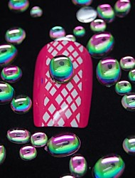 billige -100 stk mix størrelse 3d negle kunst dekoration