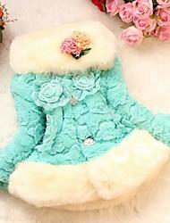 economico -Giubbino e cappotto Girl Fantasia floreale Cotone Inverno / Autunno