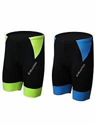 abordables -Unisexe Vélo Cuissard  / Short Séchage rapide, Respirable Spandex, Polyamide Vert et noir / Bleu et Noir Tenues de Cyclisme