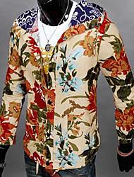 cheap -Classic & Timeless Jacket Blazer-Print Multi Color,Artistic Style