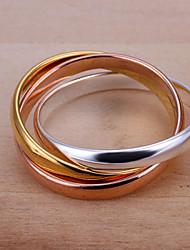 baratos -Anel - Estiloso Prata Para Casamento / Festa / Noite