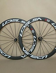 700C UDELSA U50 U Shape Carbon wheels for Road Bicycle with Light Weight Hubs