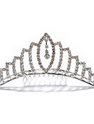 economico -copricapo in lega da donna-matrimonio speciale occasione tiara stile elegante