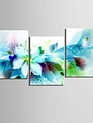 cheap -Floral/Botanical Botanical Classic Realism, Three Panels Horizontal Print Wall Decor Home Decoration